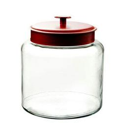 Anchor Hocking 1.5gal Montana Jar With Red Cvr