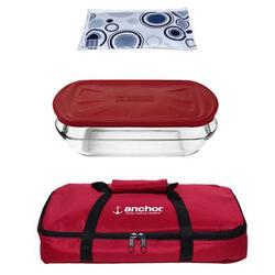 Anchor Hocking 4pc Essentials Bake Set