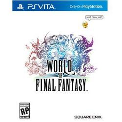 Square Enix World Of Final Fantasy Psvita