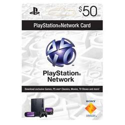 Sony PlayStation Psn 50 Dollar Live Card