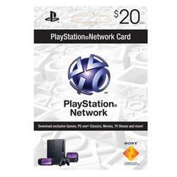 Sony PlayStation Psn 20 Dollar Live Card
