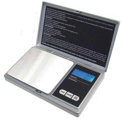 American Weigh Scales Digital Pocket Scale Silver