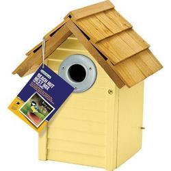 Gardman USA Beach Hut Nest Box Yellow