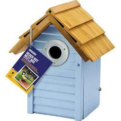 Gardman USA Country Cottage Nest Box Blue