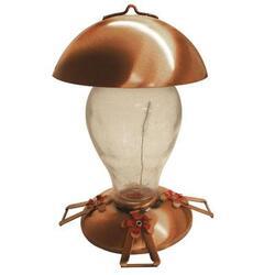 Gardman USA Copper Glass Hummingbird Fdr