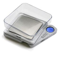 American Weigh Scales Blade Digital Pocket Scalesilv