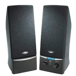 Cyber Acoustics 2.0 Black Speaker System