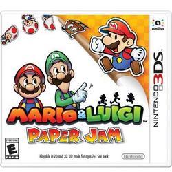 Nintendo Mario And Luigi Paper Jam