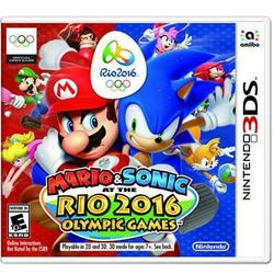 Nintendo Mario And Sonic Rio 2016 3ds