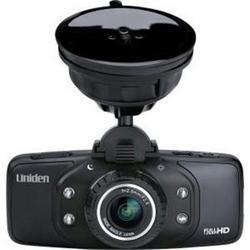 Uniden America Dash Cam Full HD GPS W8gb Sd