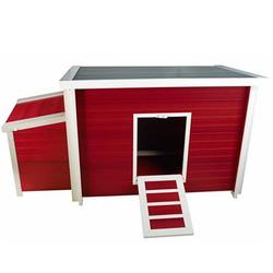 Category: Dropship Lifestyle, SKU #ECHK103BRD, Title: Fontana Chicken Barn Red Maple