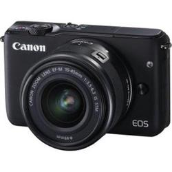 Canon Cameras Eos M10 Black Ef M 15 45mm Is