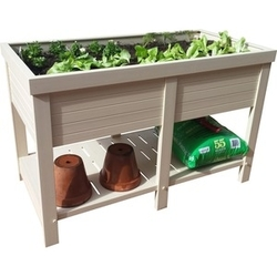 Category: Dropship Garden/outdoor Decor, SKU #EPEP303R48, Title: Marin Elevated Planter 6cu