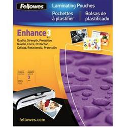 Fellowes Laminating Pouches 100pk Clear