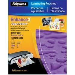 Fellowes 3mil Laminating Pouch 100pk