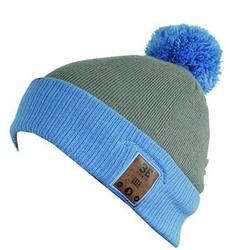 BE Headwear Feindish Bluetooth Pompom Heather Blu