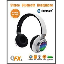 QFX Bt Stereo Hdphns With Disco Light