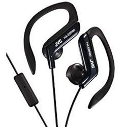 JVC America Sport Earclip With Mic Black