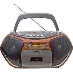 QFX Boombox With Bluetooth Cd And Cassette