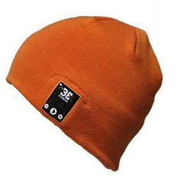 BE Headwear Justright Bluetooth Tight Fit Orange