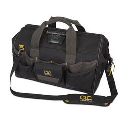 "Custom LeatherCraft Tech Lighted 18"" Tool Bag"