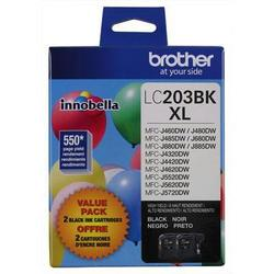 Brother International Lc203bk - 2 Pack