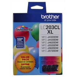 Brother International High Yield Xl 3 Pack Color Ink