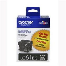Brother International Black Ink Cartridge 2 Pack