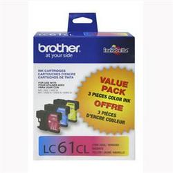 Brother International 3 Pk 1 Cyan Magentayellow