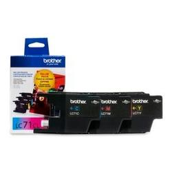 Brother International 3 Pack Ink Cart