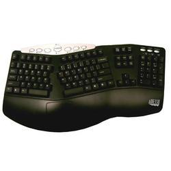 Adesso Inc. Ergo Keyboard Combo Black