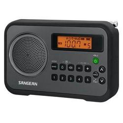Sangean America Am FM Clock Digital Radio Blk