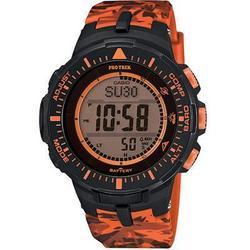 Casio Protrek Trplsensr Watch Orange
