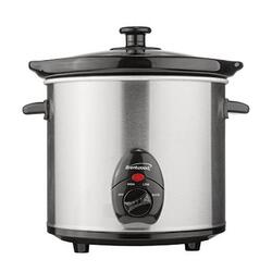 Brentwood Slow Cooker Stainless 3qt