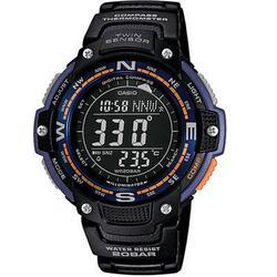 Casio Twin Sensor Watch Blugrn Light