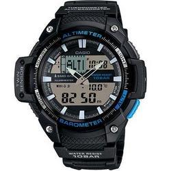 Casio Twinsensor Alt Bar Ther Watch