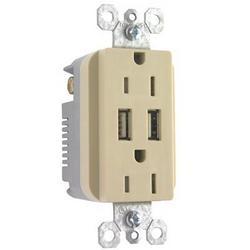 Legrand Ps USB Duplex Tr Rcptcl Ivry