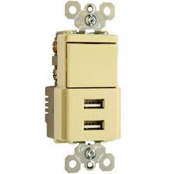 Legrand Ps USB Sngle Pole 3way Ivry