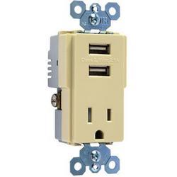 Legrand Ps USB Tamper Resist Recp Ivry