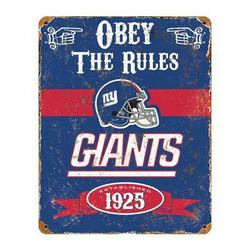 Party Animal Ny Giants Vintage Sign