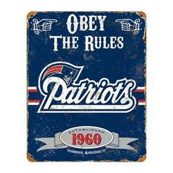 Party Animal Patriots Vintage Sign