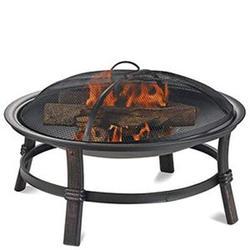 "Blue Rhino 17""h Wood Burning Firebowl"