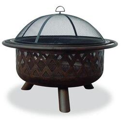 """Blue Rhino Uf 32"""" Outdr Firepit Criss Crs"""
