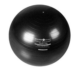 Trimax Sports Zenzation 26in Exrcise Ball Bk