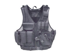 Category: Dropship Tactical Gear, SKU #PY-A-751, Title: UTG Airsoft Deluxe Tactical Vest - Black