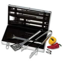 Category: Dropship Bbq, SKU #KTBQSS22, Title: 22pc Stainless Steel Barbeque Tool Set