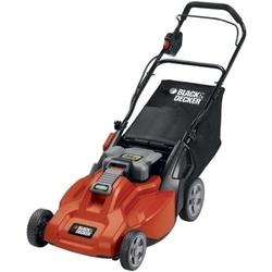 Category: Dropship Eco-home, SKU #BD1936LMRB, Title: Cordless 36-Volt Black & Decker 19-Inch Electric Lawn Mower & Battery