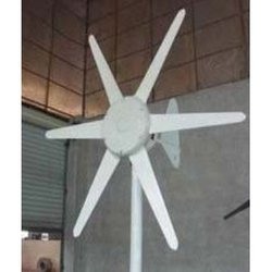 Category: Dropship Eco-home, SKU #C24V6B300WWG, Title: 300-Watt 24-Volt 6- Blade Wind Generator with Charge Controller