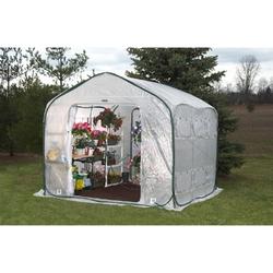 Category: Dropship Outdoors/sport, SKU #WFHG270, Title: Farm-House Home Garden UV Resistant Greenhouse (9' x 9')
