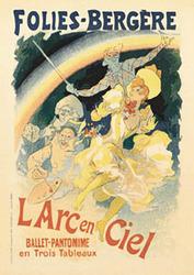 Category: Dropship Posters & Paintings, SKU #2015-22x28_AD, Title: L'arc En Ciel
